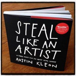 52 książki w rok. Steal like an artist.