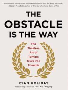 The obstacle is the way - Ryan Holiday. 52 książki w rok